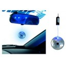 Boule à facette MIRROR LED BALL leds Bleu  SIMONI RACING