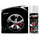 Peinture en spray  rouge pour étrier de frein et moteur SIMONI RACING